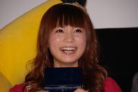 「ギザ嬉しい」笑顔の中川翔子