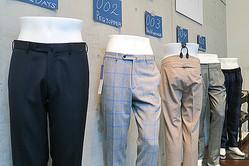 5型のパンツ専業ブランド「ムッシュ ジュポン」デビュー
