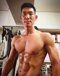 トレーニングに余念がないHG(出典:https://www.instagram.com/razorramonhg)