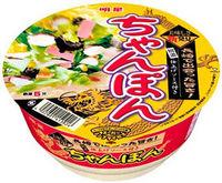 明星食品が発売するカップ麺「美味しさ新発見 ちゃんぽん」