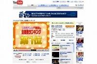 テレビ番組の違法な投稿も絶えないユーチューブの動画サイト