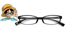 ルフィもメガネ男子の仲間入り?「JINS」からワンピースメガネが登場