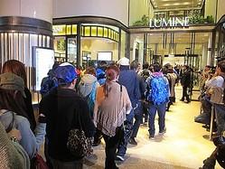 ルミネ有楽町店に3日で20万人来店 売上は4億5千万円
