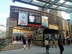 「第27回東京国際映画祭」が開催されている六本木ヒルズ