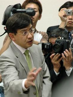USEN大株主に躍り出た村上ファンドの村上代表(資料写真:常井健一)