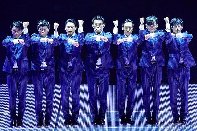 WORLD ORDER、「弱点はねのけた」武道館ライブ