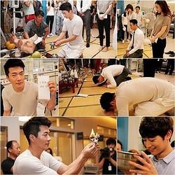 クォン・サンウ、チョン・リョウォンらドラマのヒットを祈願! 『メディカルトップチーム』