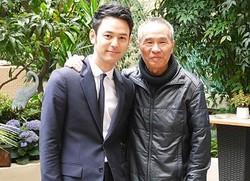 妻夫木聡と監督賞を受賞したホウ・シャオシェン監督 ※画像は21日撮影のもの
