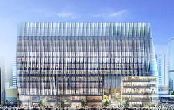 東急不動産、銀座阪急跡地にエリア最大級SC建設 デザインは江戸切子