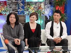 左から、岩井俊二監督、松田美由紀、山本太郎(c)スカパー!