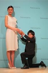 ティファニー日本発のブライダルジュエリー誕生、清史郎くんが初プロポーズ