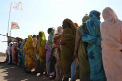 家を追われ、支援を必要とする人がいる(提供:国連世界食糧計画)