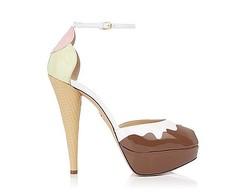 アイスクリームやサンデーが靴のデザインに「シャーロットオリンピア」限定イベント開催