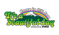 『It's a beautiful day 〜Camp in 朝霧JAM』ロゴ