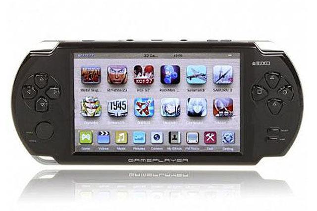 PSPソックリのAndroid端末が登場!レッドスター、携帯ゲーム機「JXD 5000」を販売へ