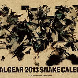 2013年はヘビ=スネーク年記念! 『メタルギア』からスネークカレンダー登場