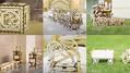 組み立て可能でメカニカルにキコキコ動く自作木製キットシリーズ「UGEARS」