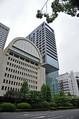 日本長期信用銀行の建物があった頃の内幸町。今はもう建物自体もなくなっている