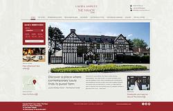 ローラ アシュレイ、イギリスで初のホテル事業スタート