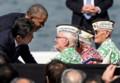 真珠湾を訪問した安倍首相(写真:gettyimages)