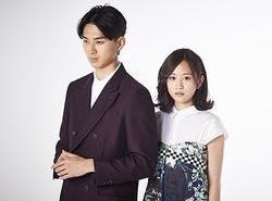 最高のチームワークで撮影! 松田翔太&前田敦子 写真:土屋久美子