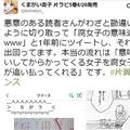 漫画家・くまがい杏子氏の投稿