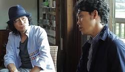 ミスターと大泉は何を話している?  - (C) 2014『ぶどうのなみだ』製作委員会