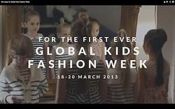 世界初キッズ服のファッション・ウィークがロンドンで開催
