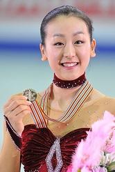 世界フィギュアで女王に輝いた浅田真央<br>(写真:岸本勉)