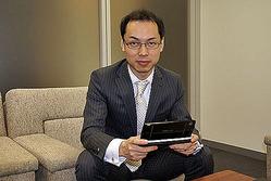 写真1 開発の経緯について語る、須永康弘氏
