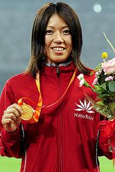 「北京五輪プレ大会」女子400mを52秒51で優勝した丹野。<br>(Photo by Tsutomu KISHIMOTO)