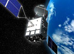 超高速インターネット衛星「きずな」 提供:宇宙航空研究開発機構(JAXA)