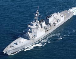 イージス艦「あたご」 写真:防衛省ホームページより引用