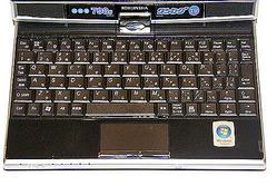 写真3 SCシリーズのキーボードとパッド