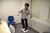 「フープダンス」に挑戦