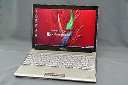 東芝のモバイルノートPC「dynabook SS RX1」にもSSDモデルが用意されている