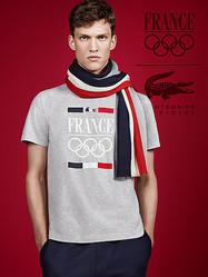 ラコステがフランス五輪選手団に公式ウェアを提供