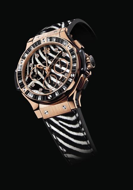 ウブロが新作時計『ビッグ・バンゼブラ』を発表!