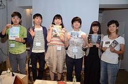 イベントに登壇した(左から)大下直人さん、佐藤友則さん、平井万里子さん、安藤勇作さん、矢部紗耶香さん、竹中翔子さん