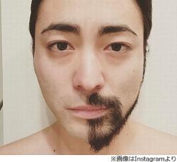 """山田孝之""""髭は重要""""とわかる比較画像"""