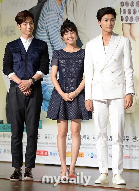 """【PHOTO】ユン・パク、ソン・ダムビ、ZE:A ヒョンシクら「家族同士で何するの」制作発表会に出席""""期待してください!"""""""