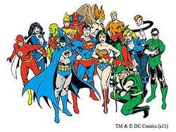 DCコミックスのデジタルコンテンツ配信を開始