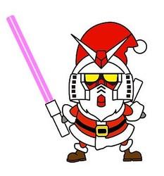 東京都「ガンダムフロント東京」、「ガンダム立像」がクリスマス仕様に