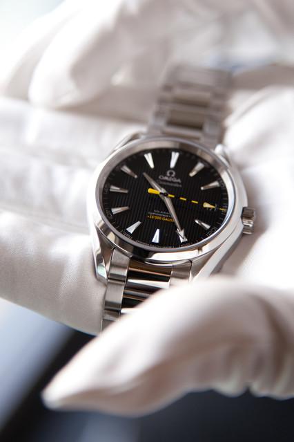 オメガが初の超高耐磁性能時計を発表