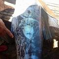 フィリピン・ミンダナオ島で水揚げ タトゥーのような模様の魚がSNSで話題
