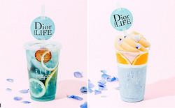 美しいブルーにウットリ♡「ディオール ライフ×ELLE cafe」のコラボメニューがフォトジェニック!