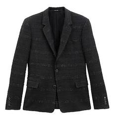 GIVENCHY 日本人男性のためのスーツに初のツィード素材
