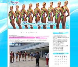 日本代表公式サイト『マーメイドジャパン日記』より