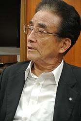 下條村の伊藤喜平村長