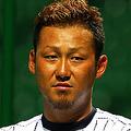 個性的な髪形と肌の黒さで25歳とは思えぬ風格を漂わせる日本の4番・中田翔 [Getty Images]